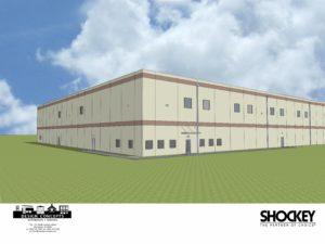 3D rendering of building