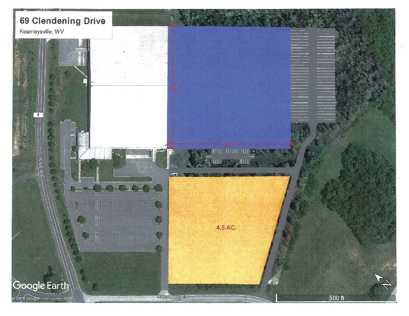 Photo of 253,500 SF on Clendening Drive, Kearneysville